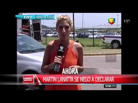 Martín Lanatta no declaró pero dijo que va a colaborar en un futuro cercano