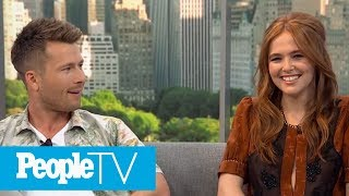 'Set It Up' Co-Stars Zoey Deutch And Glen Powell Playfully Deny Dating | PeopleTV