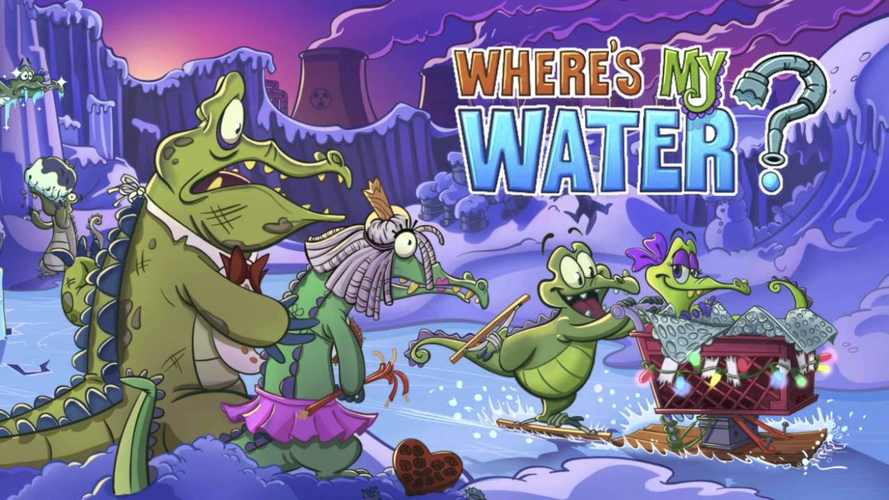 Where's My Water Music - Cranky's Course 1