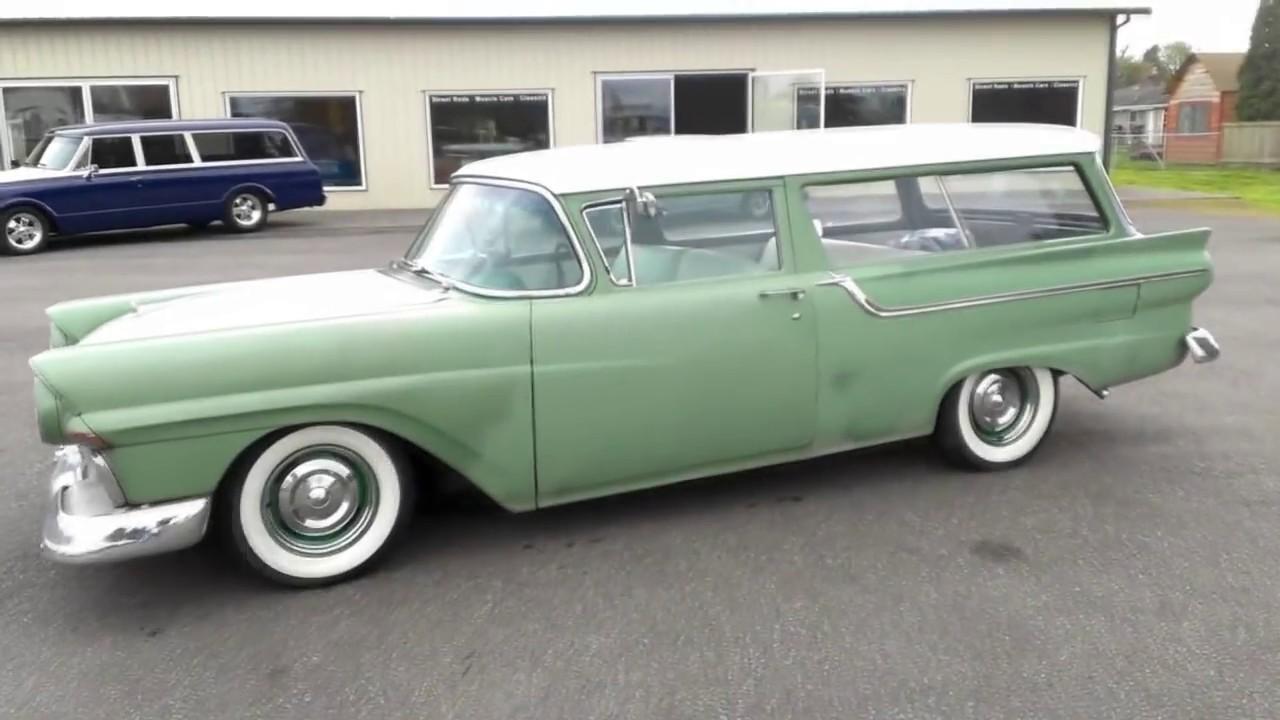 1957 Ford Ranch Wagon Youtube