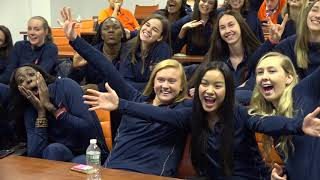 Volleyball Selection Show Reaction