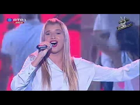 Mariana Bandhold - domino Jessie J - Gala 3 - The Voice Portugal video