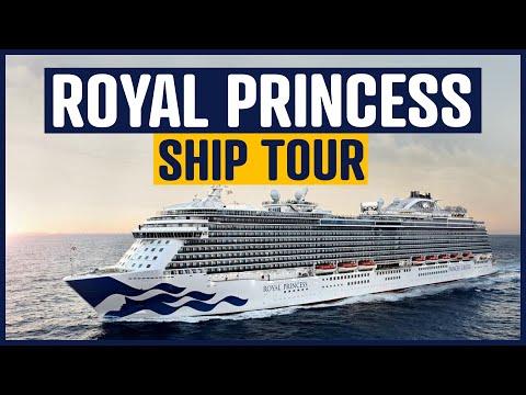 Royal Princess Cruise Ship and Cabin Tour