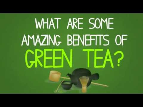 Green Tea's AMAZING Health Benefits