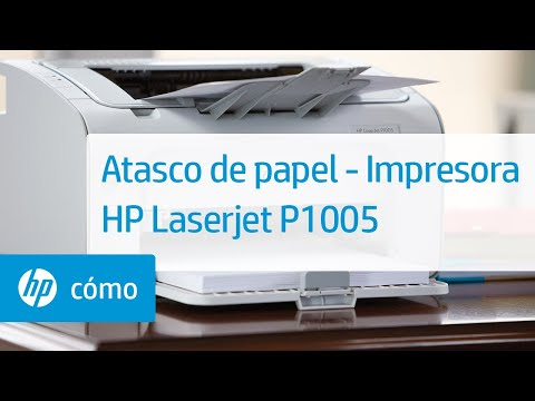 Atasco de papel - Impresora HP Laserjet P1005