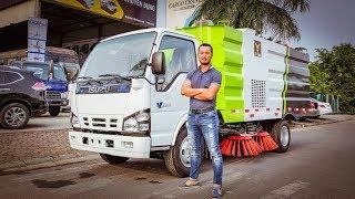 XEHAY - Lái thử xe tải hút bụi và hót rác