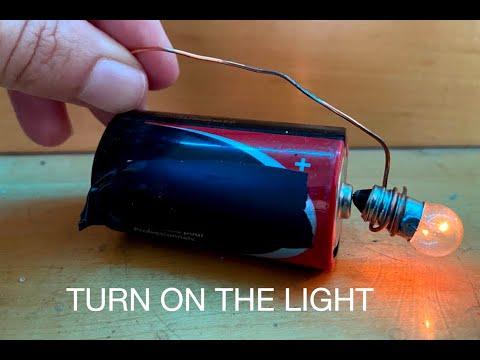 Science Light Bulb ▶ Light Bulb Battery