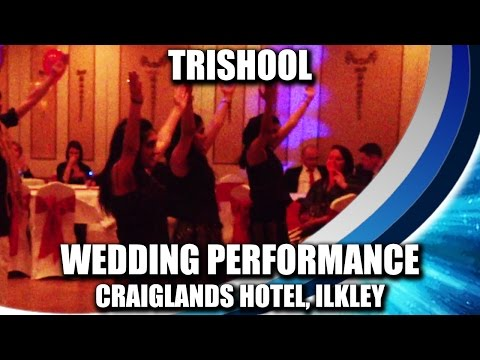 Trishool Dance Academy performing at a Wedding function at Craiglands...