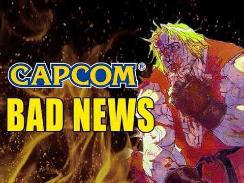 Capcom In Trouble - Mobile Failing/Profits Cut In Half