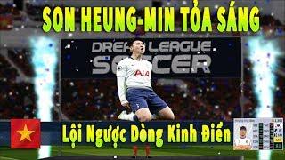 Dream League Soccer 2019 Đá online Ra mắt Son Heung Min #27