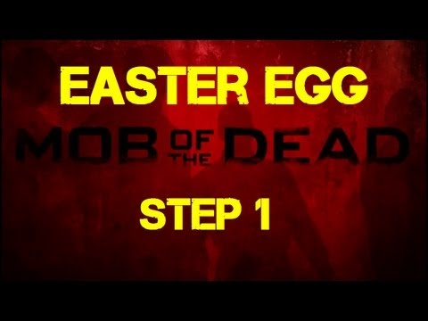 Mob of the Dead Easter Egg Step 1 - Obtaining the First Afterlife Skull Outside of Spawn