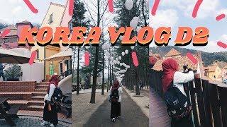 [VLOG 27] TRAVEL TO KOREA D2 | NAMI ISLAND | PETITE FRANCE | MYEONGDONG & HONGDAE