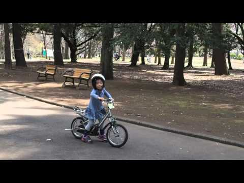 春生さん補助輪なし自転車 ...