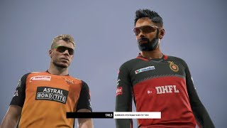 SRH VS RCB - MID-SEASON IPL GAMING SERIES | CRICKET 19 GAMEPLAY