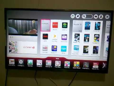 UNBOXING SMART TV 3D 42