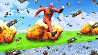 DODGE 1 MILLION STICKY BOMBS! (GTA 5 Funny Moments)