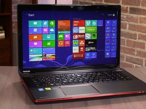 Toshiba Qosmio X75 gaming laptop