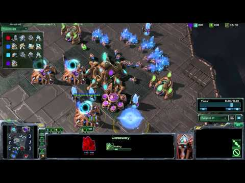 StarCraft 2 - [P] TP 2v2 Recovering From Harass and Pushing Out - Strategy