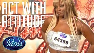 Download Lagu AUDITION WITH ATTITUDE! Rhonetta Doesn't Hold Back On American Idol Judges! Idols Global Gratis STAFABAND