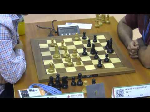 Carlsen vs Anand - 2014 World Blitz Championship