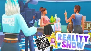 YOUR SIMS CAN HAVE THEIR OWN REALITY TV SHOW!? // THE SIMS 4 | REALITY SHOW MOD REVIEW