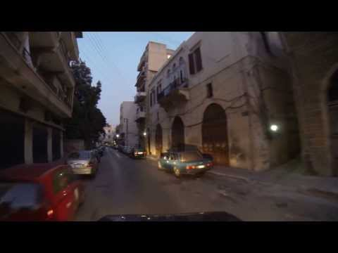 Driving in Tripoli and North Lebanon