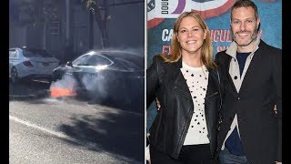 Mary McCormack claims husband's Tesla Model S spontaneously combusted - 247 news