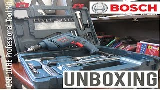 Bosch GSB 10 RE Professional Tool Kit | Unboxing