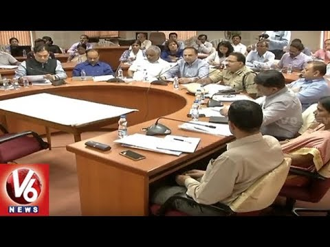 CS Joshi Video Conference With Collectors Over Appointing Special Officers In Municipalities | V6