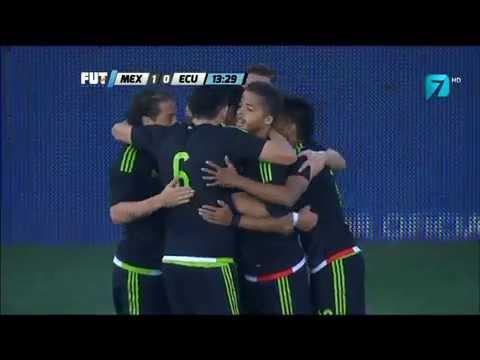 Partido Amistoso México vs Ecuador (1-0) TV AZTECA 2015