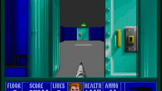 Wolfenstein 3D (PS3) Playthrough (Episode 1: Escape From Wolfenstein)