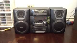 Speaker System: Panasonic SA-AK25 Super Woofer System