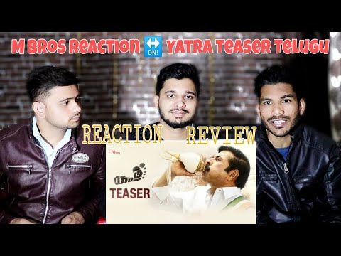 Yatra Movie Official Teaser Reaction And Review (Telugu) | Mammootty | YSR Biopic | Mahi V Raghav