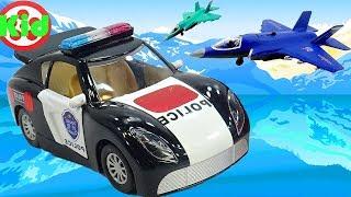Xe ô tô cảnh sát - Ô tô cảnh sát - Nhạc EDM