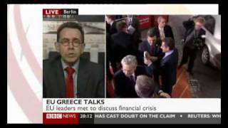 Greece On Brink of Bankrupcy- the E.U. Bailout