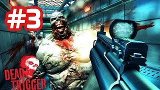 Dead Trigger - Android Walkthrough - Part 3 Explore Bunker, Find All Transmitter Parts