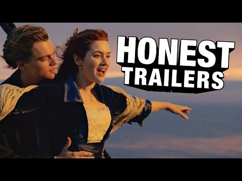 Keeping movies honest � http://bit.ly/HonestTrailerSub James Cameron's blockbuster film TITANIC, is back and longer than ever, this time in 3D!! Starring Leonardo DaVinci and Boobs! #HonestTrail...