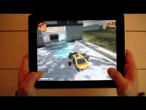 Grand Theft Auto 3: iPad Review (10 Year anniversary)