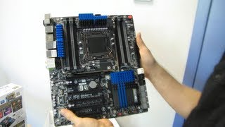 Gigabyte X79S-UP5 WIFI Workstation Class Motherboard Unboxing & First Look Linus Tech Tips