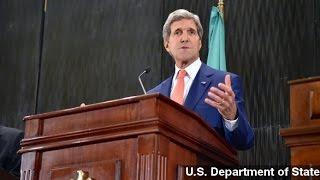 Israeli Media Slams Kerry For 'Rewarding' Hamas