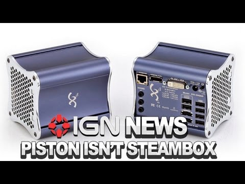 IGN News - Piston is Not Valve's Steambox