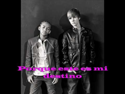 justin bieber ft jaden smith - never say never (subtitulos en español)