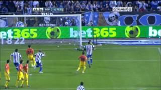 اهداف برشلونة وديبورتيفو لاكورونيا 5-4