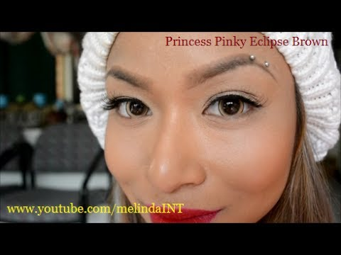 Princess Pinky Eclipse Brown Lenses video