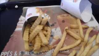 Burger King Crinkle Cut Fries Review
