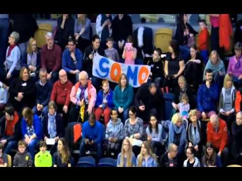 Mo Farah Wins Men's 3000m Final Glasgow Grand Prix 2016
