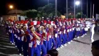 FANFARRA FANEOB - APRESENTAÇÃO ( VICE-CAMPEÃ BAIANA NA FINAL DA LICBAMBA 2013)