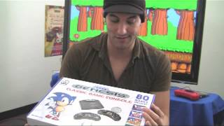 Sega Genesis Console 80 Games Unboxing