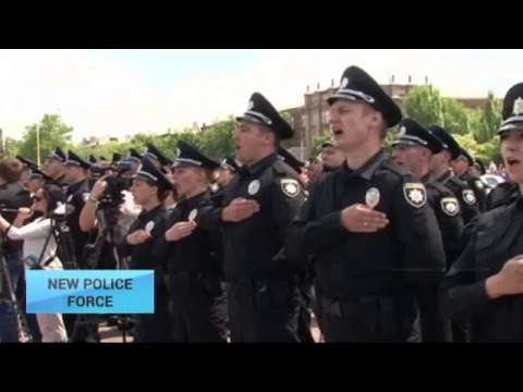 Ukraine's New Police Force: Western-style police starts working in Luhansk region