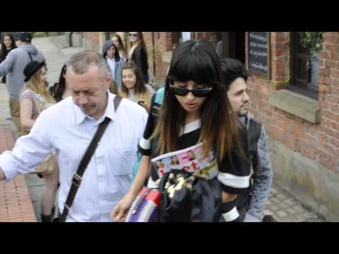British Singer Foxes Heads Out From Key 103 In Manchester